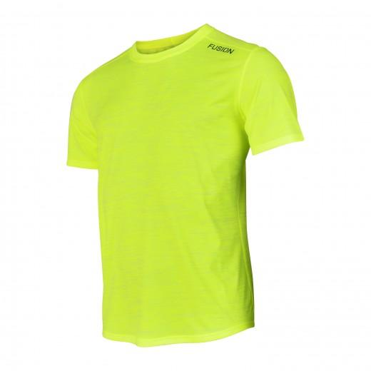 Fusion C3 T-Shirt Herre Gul Melange-31