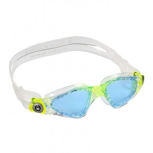 AquaSphereSvmmebrillerKayenneJrTransparentLimemedBlglas-31