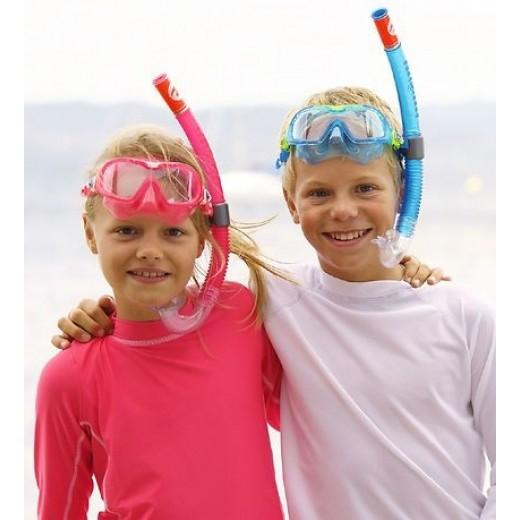 Aqua Sphere Snorkel sæt CombiMix Pink-02
