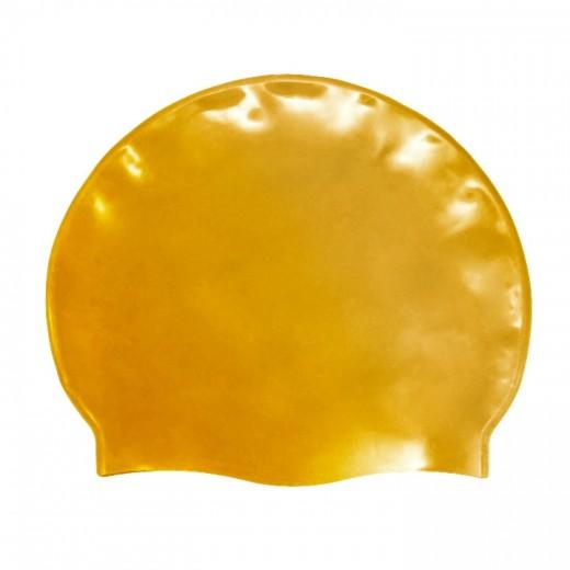 Badehætte Voksen Silicone Guld-31