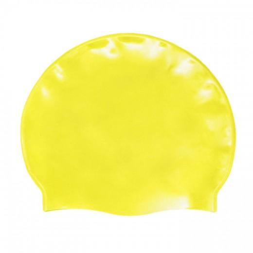 Badehætte Voksen Silicone Neon Gul-31