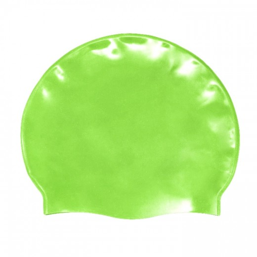 Badehætte Voksen Silicone Fluo Green-31
