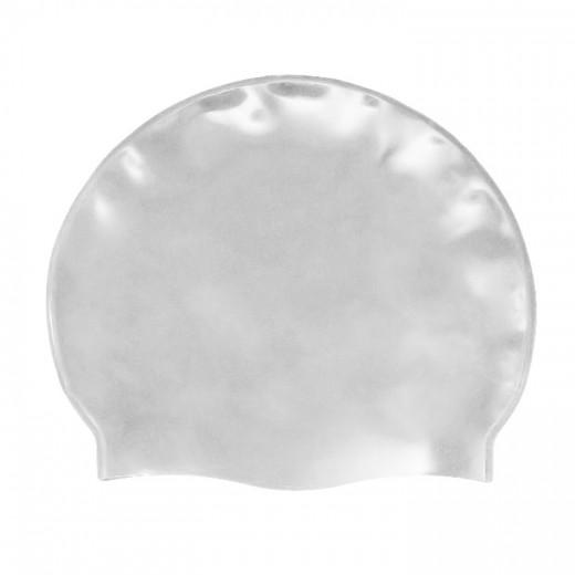 Badehætte Voksen Silicone Sølv-31