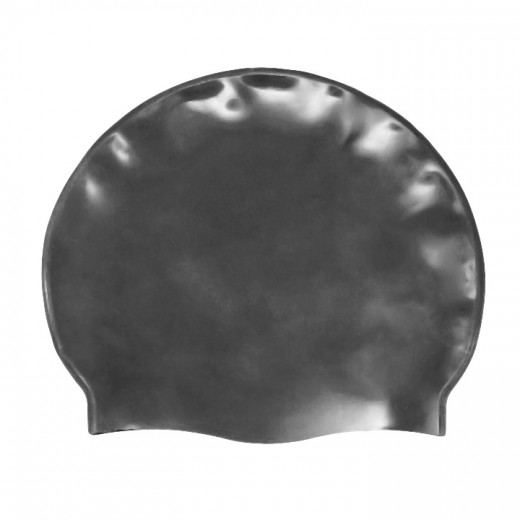 Badehætte Voksen Silicone Mørk Grå-31