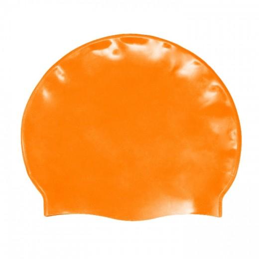 Badehætte Voksen Silicone Orange-31