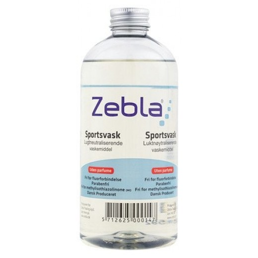 Zebla Sportsvask 500 ml Uden Parfume.-32