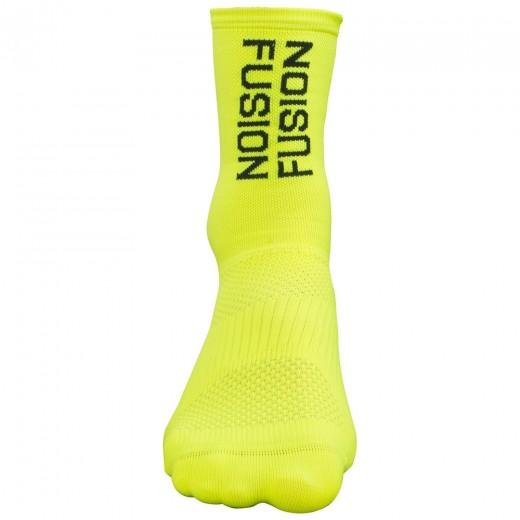 Fusion PWR Cycle Sock MW Neon-32