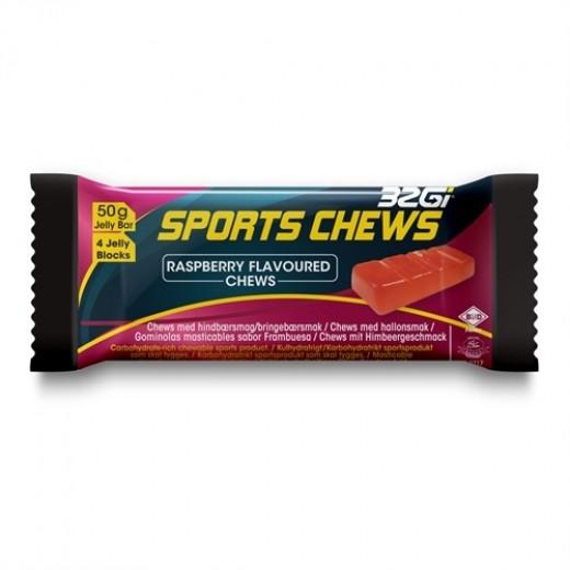 32Gi Sport Chews med hindbær smag 12 stk. i kasse.-31