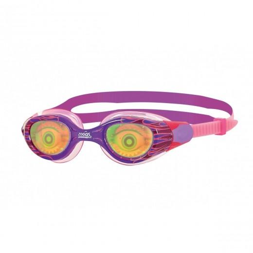 Zoggs Sea Demon Junior Svømmebrille Lilla/Pink Pige.-31