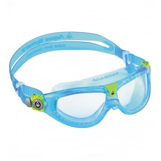 Aqua Sphere SEAL KID 2 Svømmebrille Blue/lime.-06