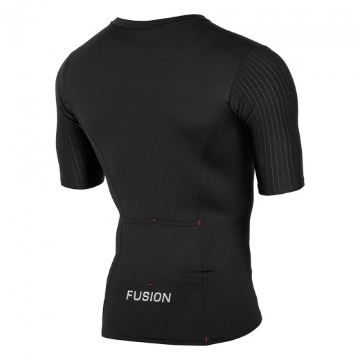 Fusion SLi Tri Top Short Sleeve Sort/Sort 2019 NYHED-01