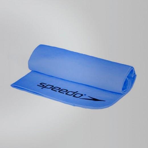 Speedo mikrofiber håndklæde Lyseblå.-01