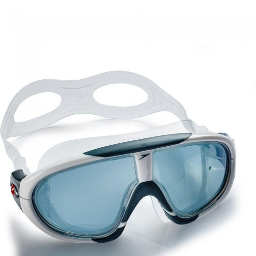 Speedo Rift Pro Svømmebrille Red/Smoke-04