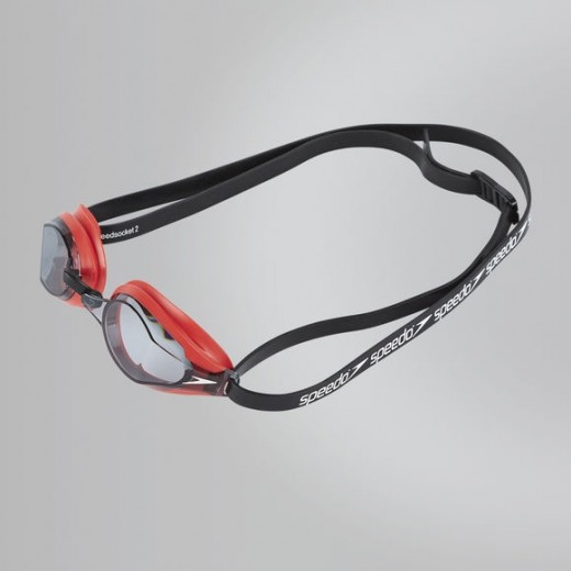 Speedo Fastskin Speedsocket 2 Red/smoke-01