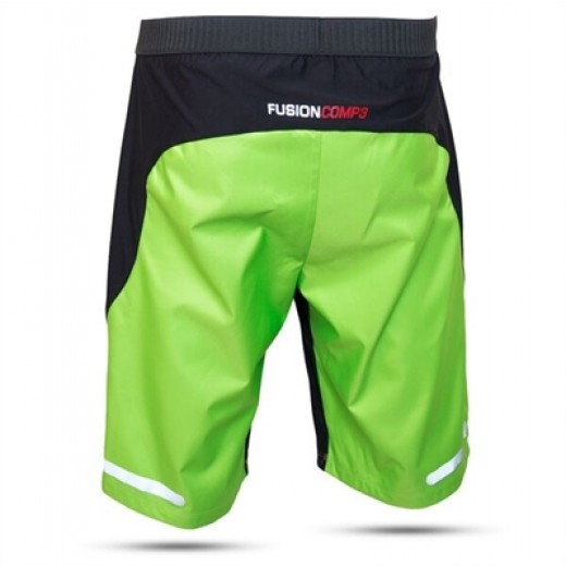 S100 RUN GRØN SPRAY SHORTS. TILBUD-01