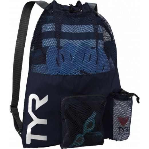 TYR Big Mesh Mummy BackPack Mørkeblå-31