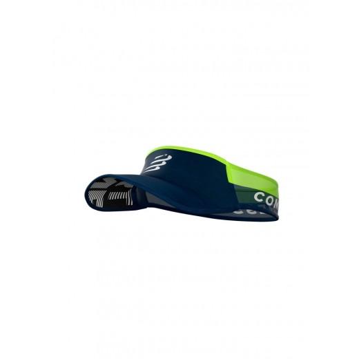 Compressport UltraLight Visor Blå/Lime-32