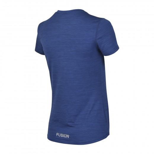 Fusion C3 T-Shirt dame MørkblåMelange-02