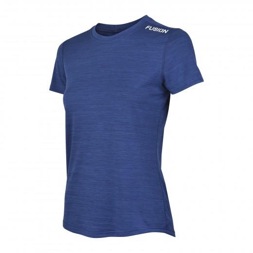 Fusion C3 T-Shirt dame MørkblåMelange-32