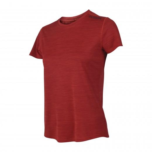 Fusion C3 T-Shirt dame RødMelange-32