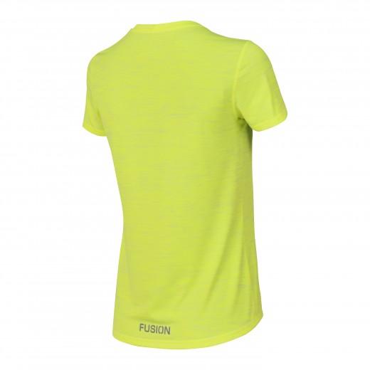 Fusion C3 T-Shirt Dame GulMelange-02