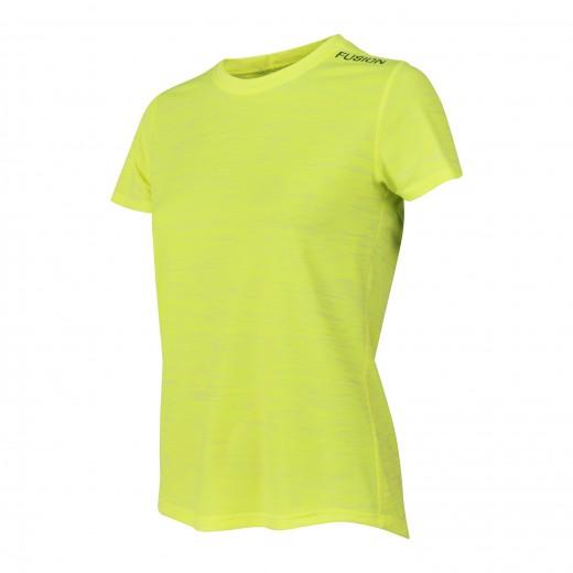 Fusion C3 T-Shirt Dame GulMelange-32