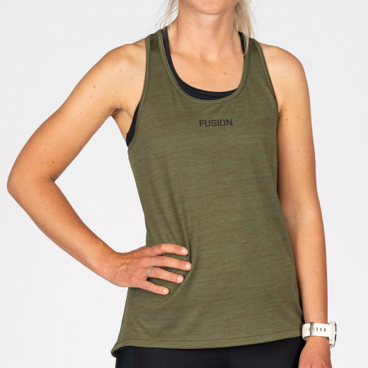 Fusion C3 Training Top Dame Green-32