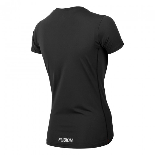 Fusion Dame SLi T-SHIRT Sort-04