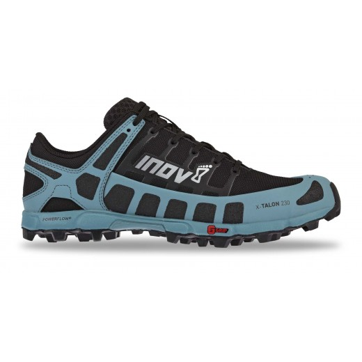 Inov8 X-Talon 230 Dame Sort/Blue-Gray-31