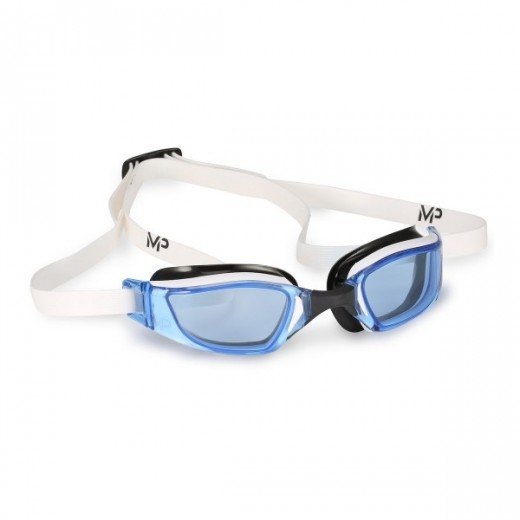 Michael Phelps Xceed Blue Lens White/Black-31