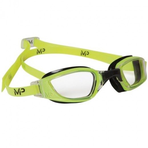 Michael Phelps Xceed Clear Lens Yellow/Black-31