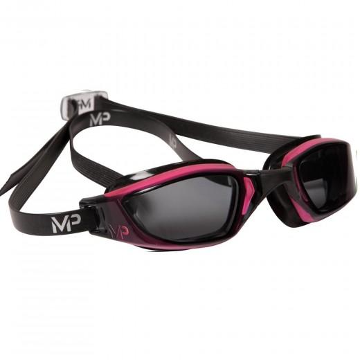 Michael Phelps Xceed Dark Lens Pink/Black LADIES-31