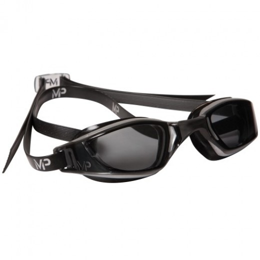 Michael Phelps Xceed Dark Lens Silver/Black-31