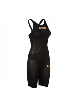 Arena Powerskin Carbon Air 2 Black/Gold Dame-20