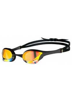 Arena Cobra Ultra Swipe Gold Mirror Svømmebrille Sort-20