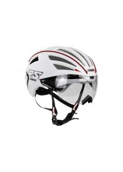 SPEEDairo 2 RS Hvid ( incl.Vautron Visor ) Cykelhjelm.-20