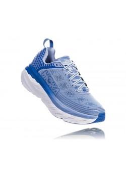 Hoka Bondi 6 Dame løbesko SERENITY / PALACE BLUE-20