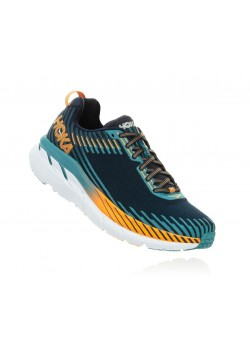 Hoka Clifton 5 Blackiris/StormBlue Herre-20