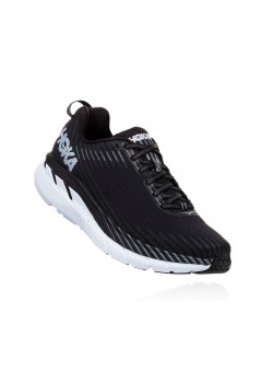 Hoka Clifton 5 Black/White Herre-20