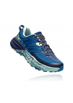 Hoka Trail Speedgoat 3 Seaport/Medieval Blue Dame-20