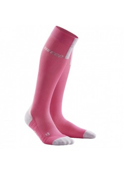 CEP Run Socks 3.0 Kompressions strømpe Dame Rose/Light Gray-20
