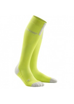 CEP Run Socks 3.0 Kompressionsstrømpe Dame Lime/Light Gray-20