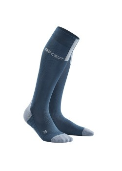 CEP Run Socks 3.0 Kompressionsstrømpe Dame BLUE / GREY-20