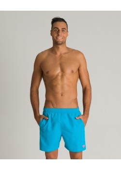 Arena Fundamentals Boxer svømmeshorts Turquoise-Fluo Red-20