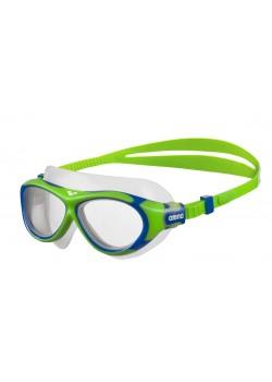 Arena OBLÉ Junior Svømmebrille Klar glas Grøn/Blå-20