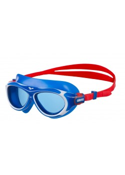 Arena OBLÈ Junior Svømmebrille Blå glas Blå/Hvid-20