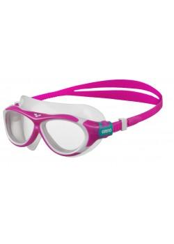 Arena OBLÉ Junior Svømmebrille Klar glas Pink-20