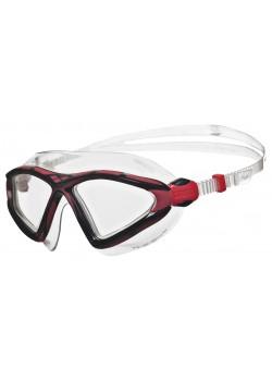 Arena X-Sight 2 Openwater Svømmebrille Klar linse Sort/Rød-20