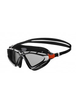 Arena X-Sight 2 Openwater Svømmebrille Smoke linse Sort/Hvid-20