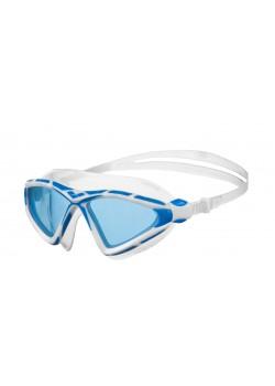 Arena X-Sight 2 Openwater svømmebrille Blå linse Hvid/Blå-20